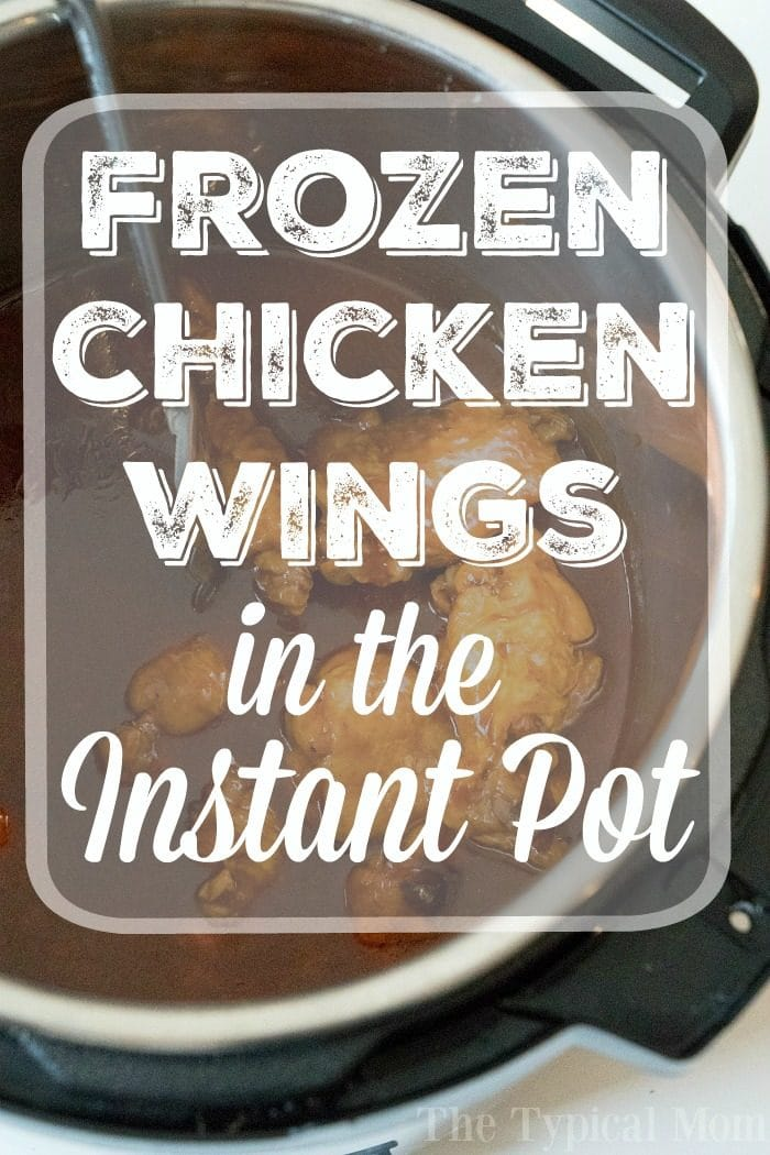 Pressure Cooker Frozen Chicken Wings 3