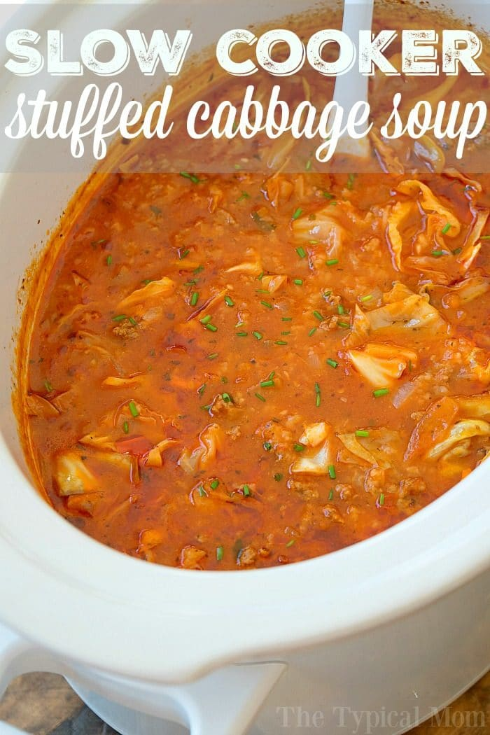slow cooker stuffed cabbage soup 3