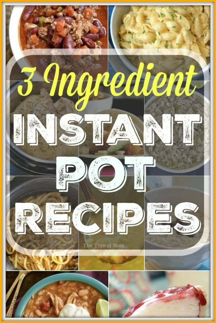 3 ingredient instant pot recipes the typical mom 3 ingredient instant pot recipes forumfinder Image collections