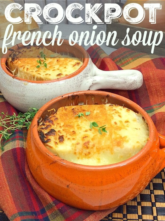 Easy Crockpot French Onion Soup 3