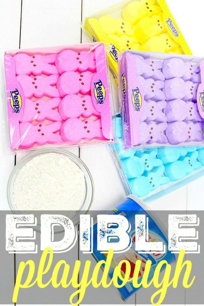 homemade edible playdough