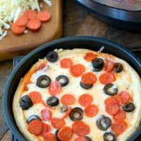 Instant Pot Pizza