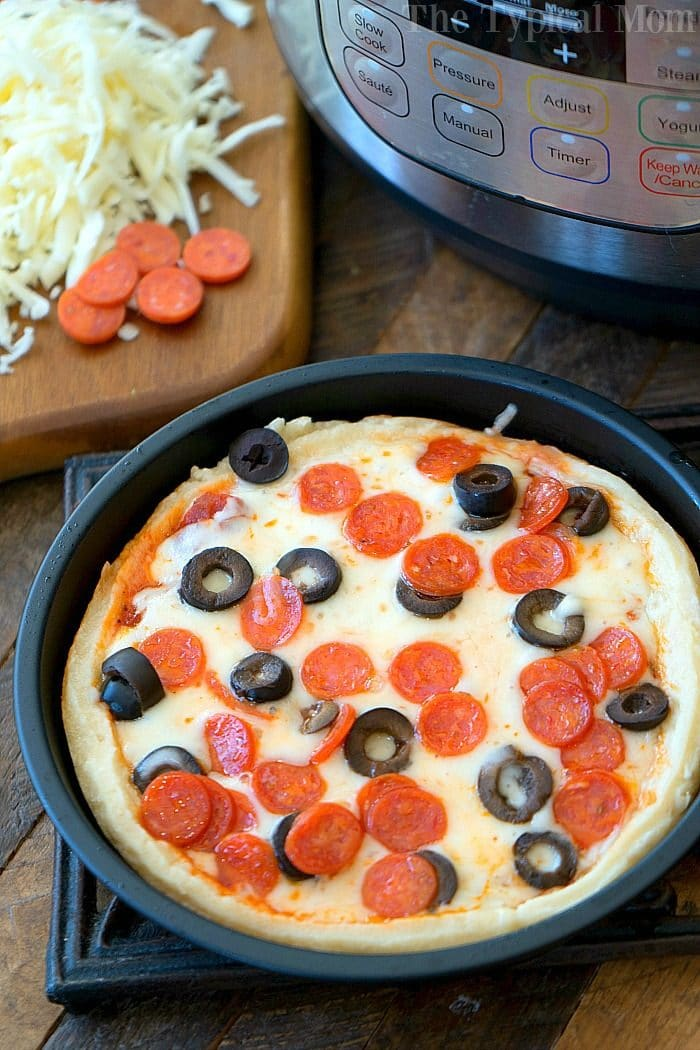 Instant Pot Pizza