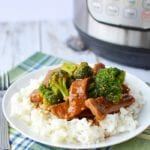 Pressure Cooker Beef and Broccoli 4