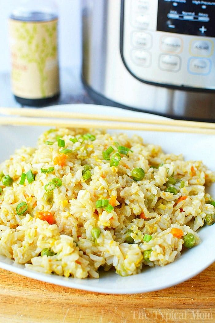 Pressure Cooker Fried Rice 3