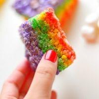 Rainbow Marshmallow Squares 2