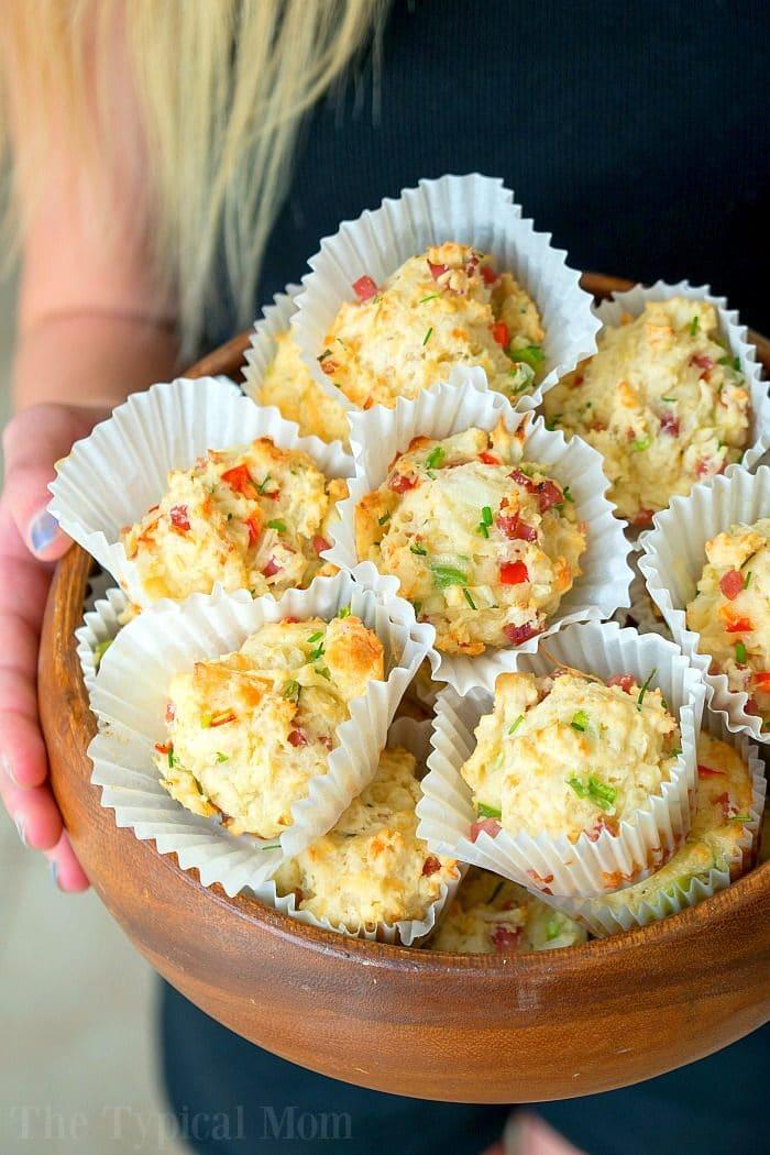 Savory Breakfast Muffins 2