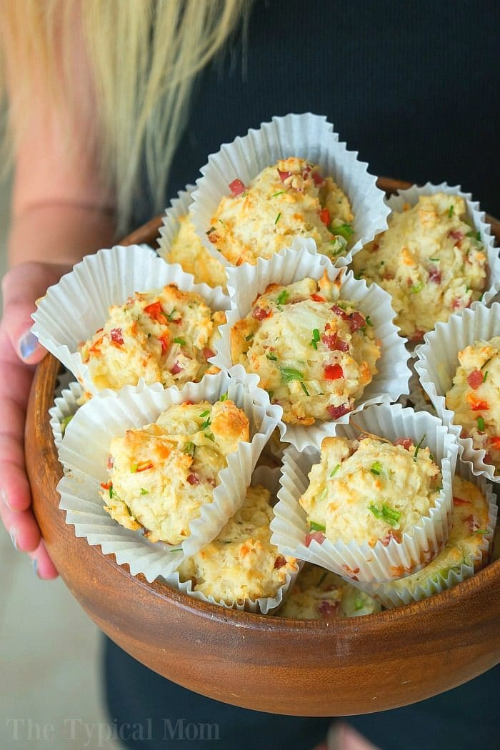 Savory Breakfast Muffins 3