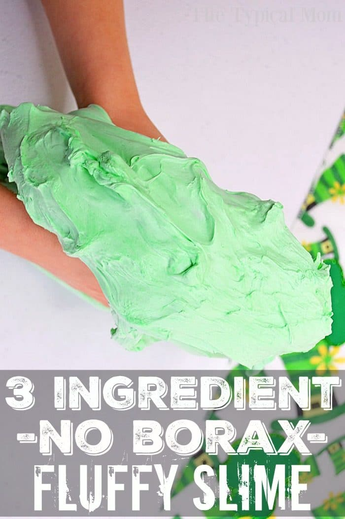 Slime Made With Shaving Cream