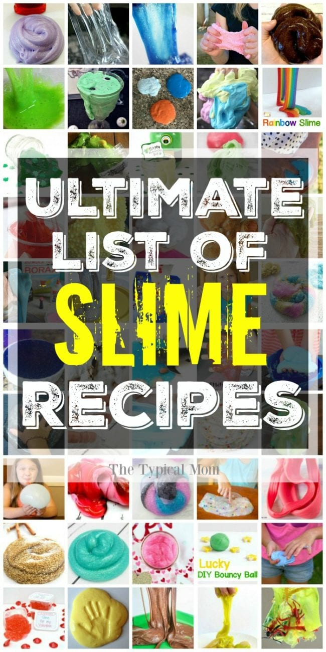 picture regarding Slime Recipe Printable identified as 51+ Simplest Course towards Crank out Slime Recipes - Edible - No Borax - Youngster