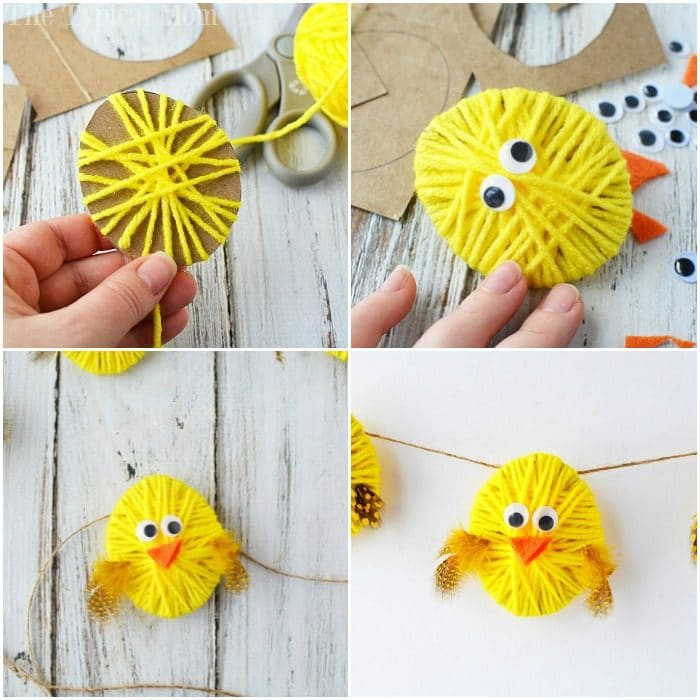 easter garland decoration 3