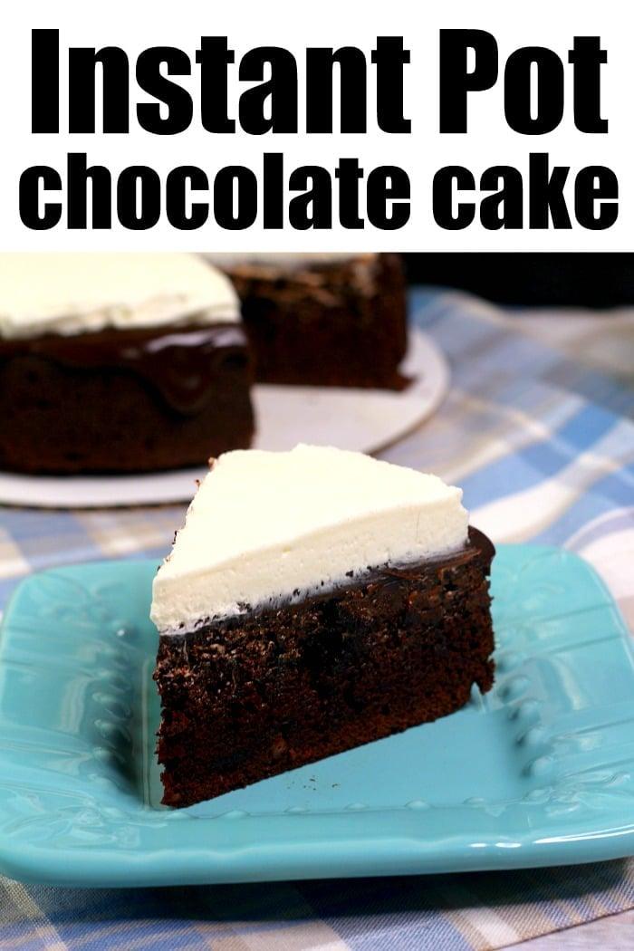 instant pot cake