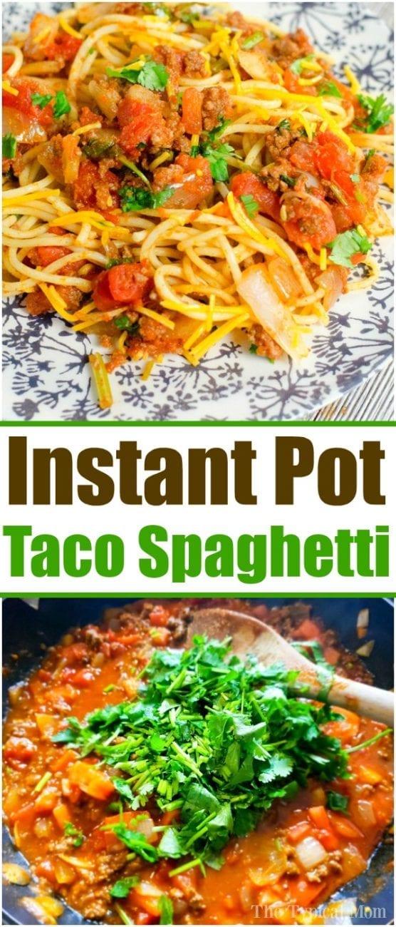 instant pot spaghetti 2