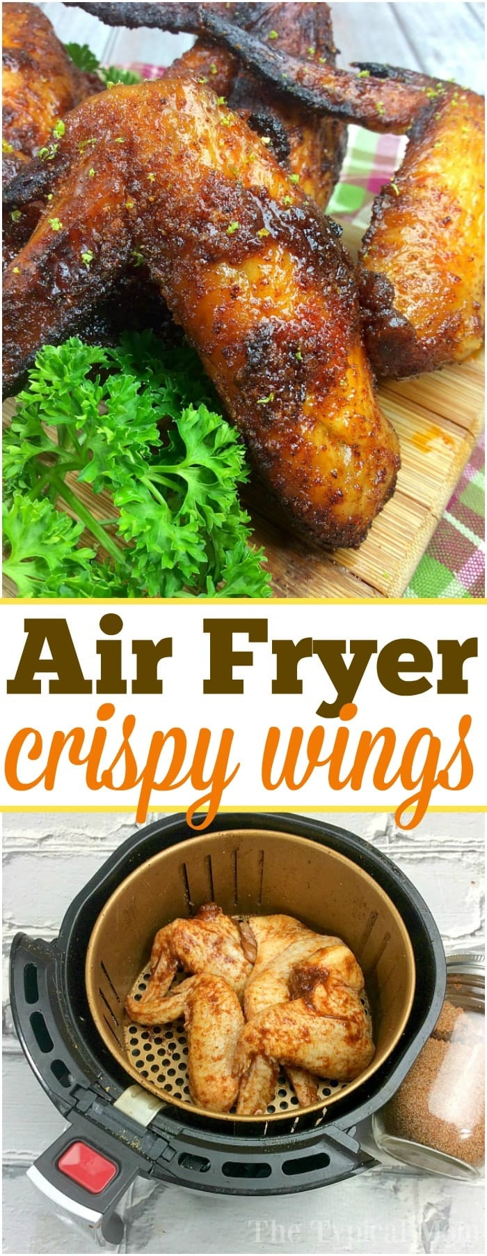 Air Fryer Wings Recipe Dry Rub For Wings Ninja Foodi Wings