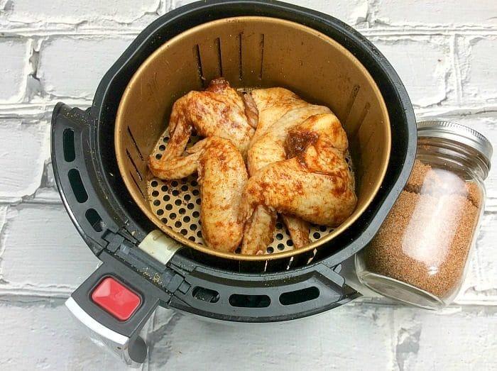 Air Fryer Wings Recipe Dry Rub For Wings Ninja Foodi Wings