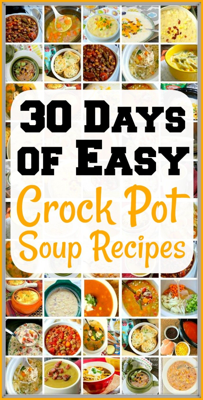 Easy Slow Cooker Soup Recipes The Typical Mom