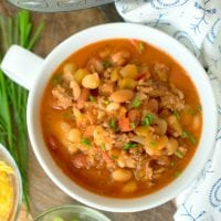 Pressure Cooker Chili With Dry Beans