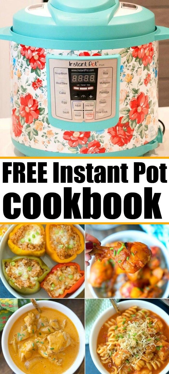 free instant pot cookbook