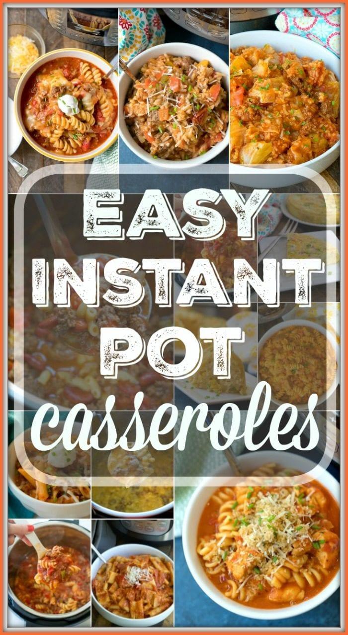 instant pot casseroles