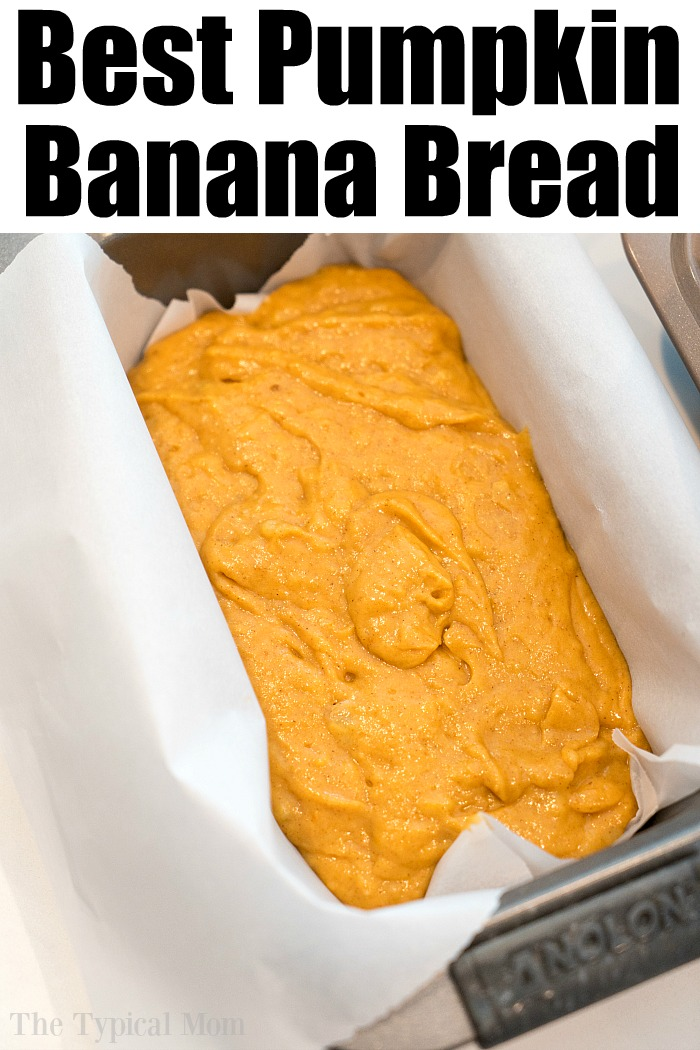 pumpkin banana bread recipe