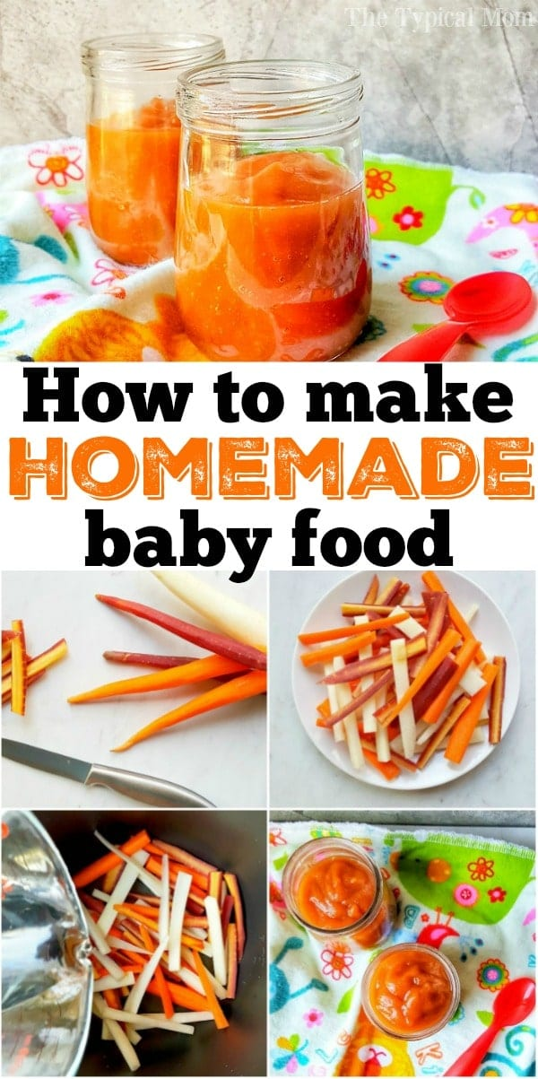 How to Make Homemade Baby Food 2