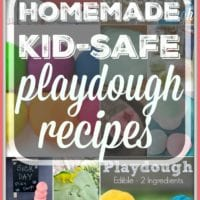Kid Friendly Play Dough Recipes
