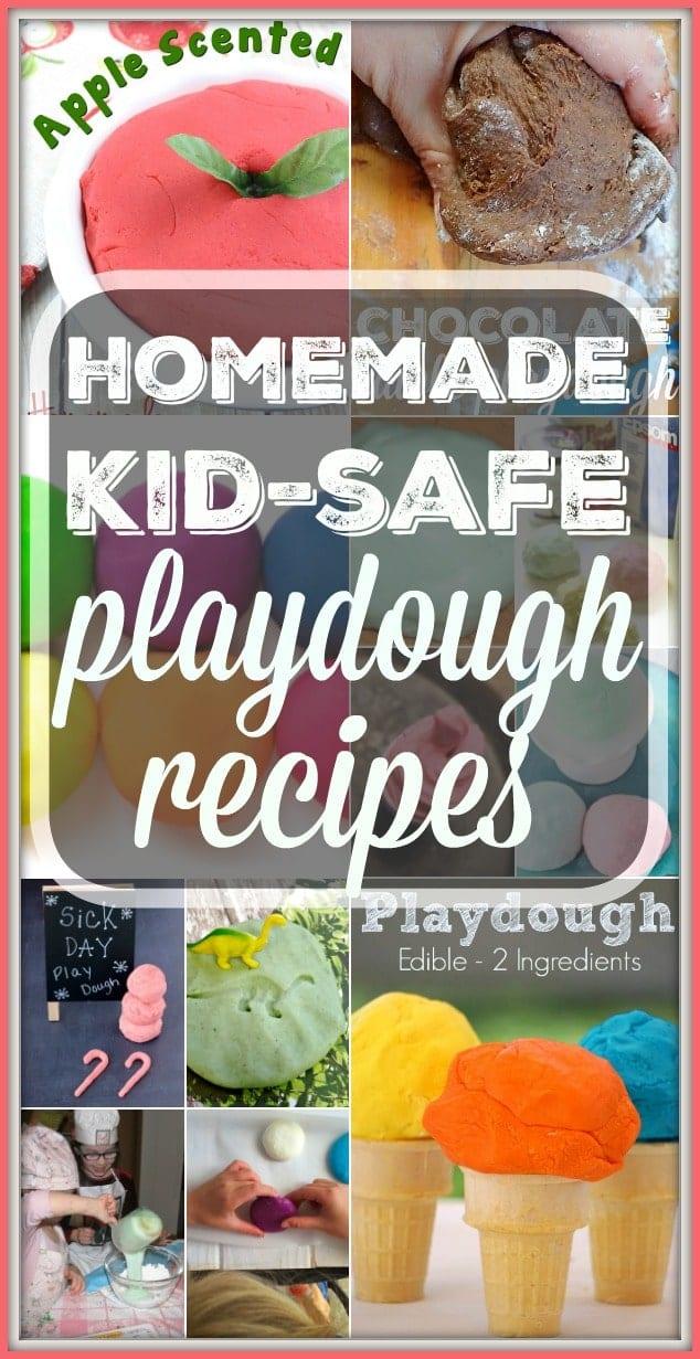 Kid Friendly Play Dough Recipes