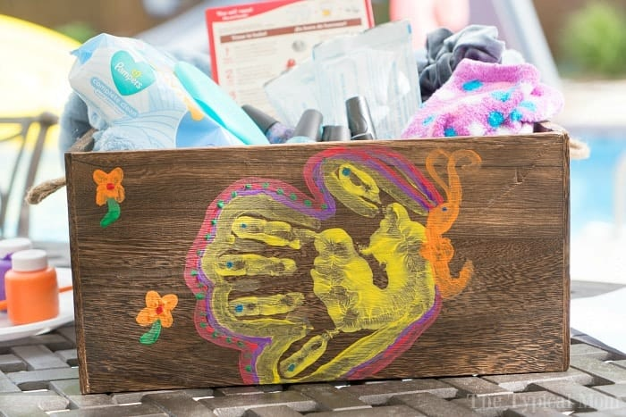 butterfly hand art