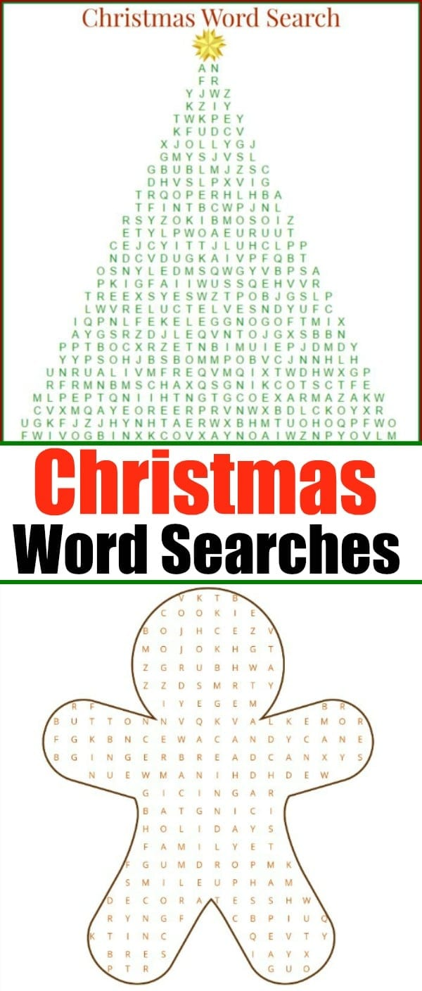 christmas word search printable thats free to download and a great activity to do during the