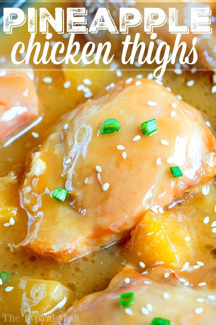 easy pineapple chicken