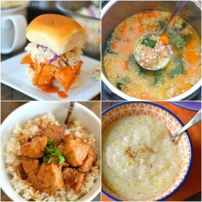 the typical mom instant pot recipes