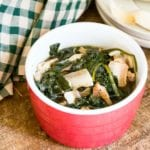 pressure cooker spinach
