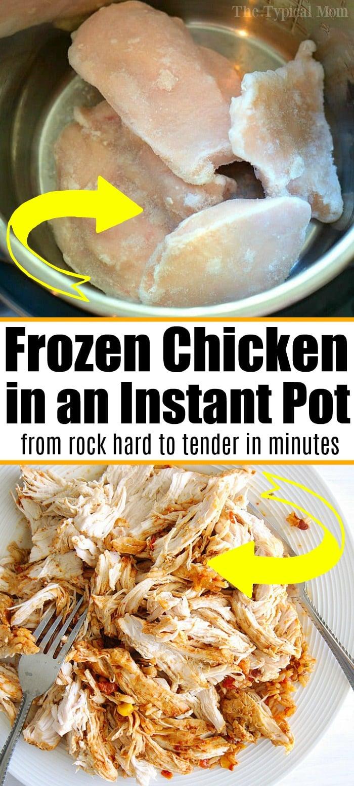 How to make frozen chicken breast tender