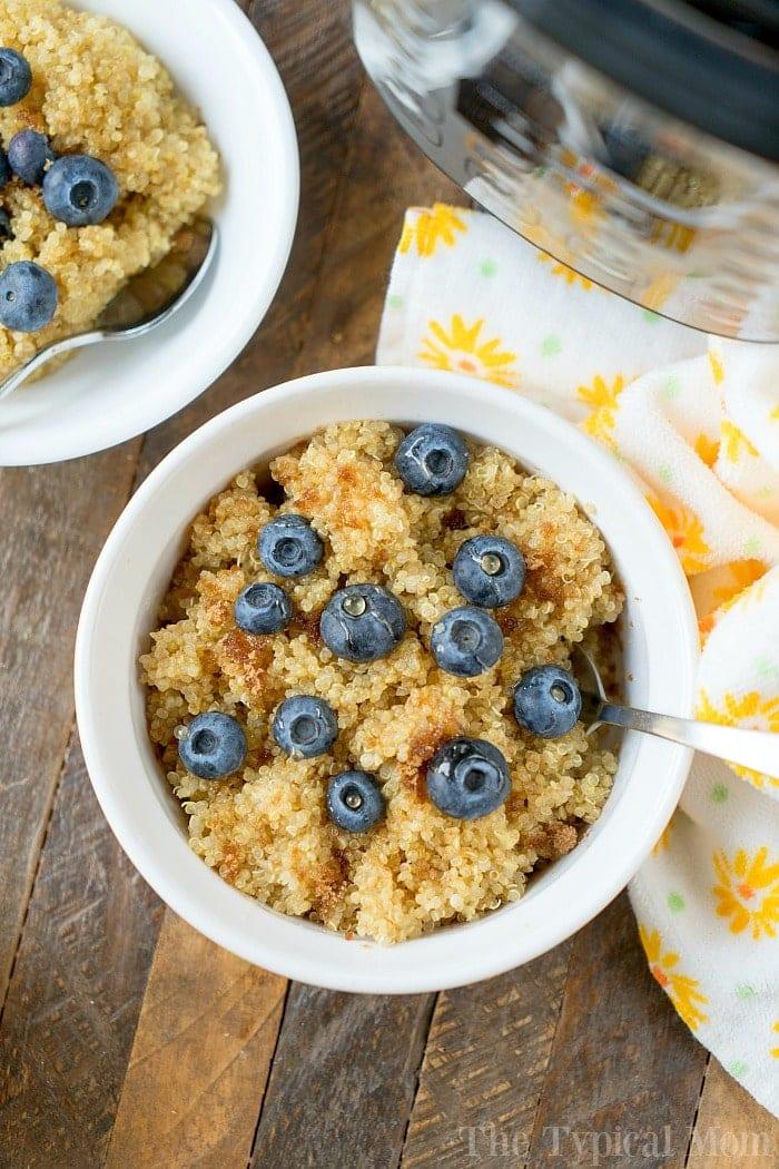 Pressure Cooker Breakfast Quinoa