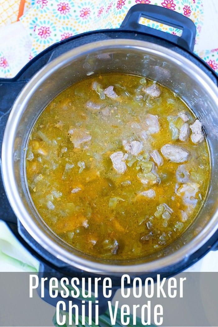 Pressure Cooker Chili Verde 3