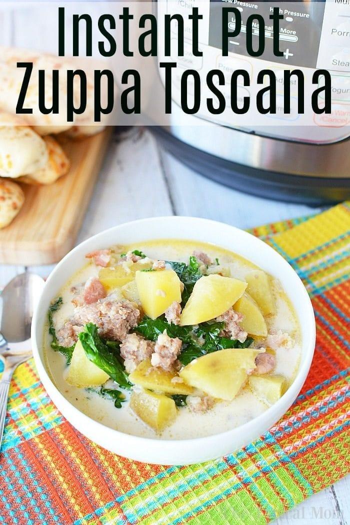 Pressure Cooker Zuppa Tuscana Recipe