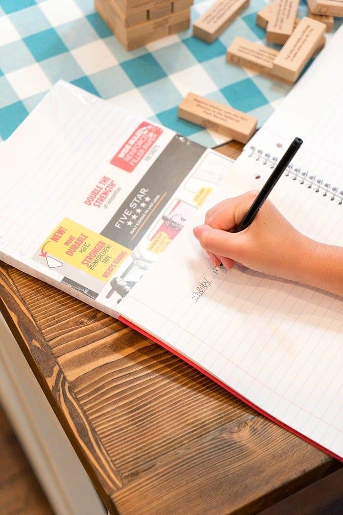 school supply list printable