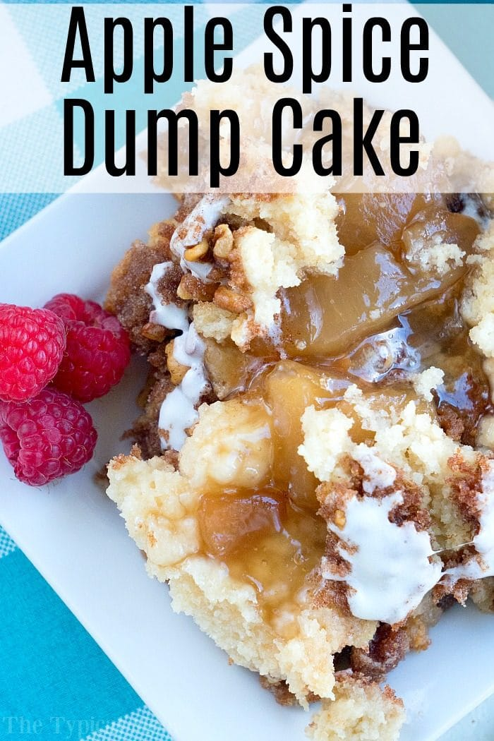 Apple Spice Dump Cake 2