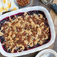 Huckleberry Cobbler