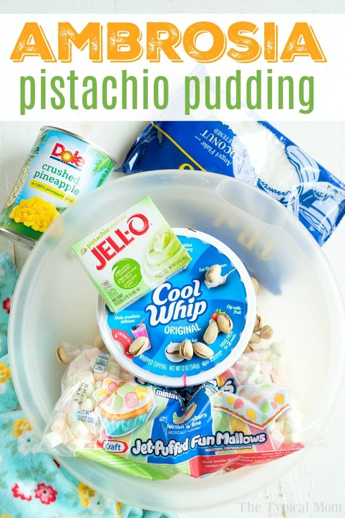 Pistachio Pudding Ambrosia
