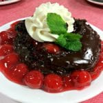 Pressure Cooker Chocolate Lava Cake