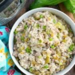 Pressure Cooker Sausage Rice Casserole