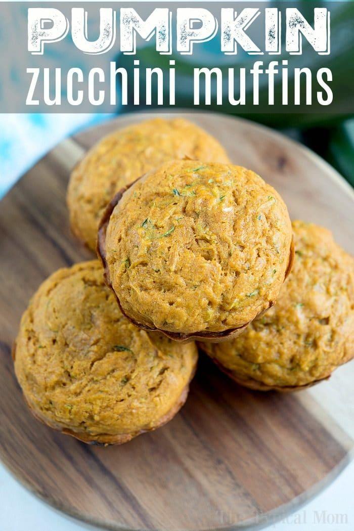 Pumpkin Zucchini Muffins 2