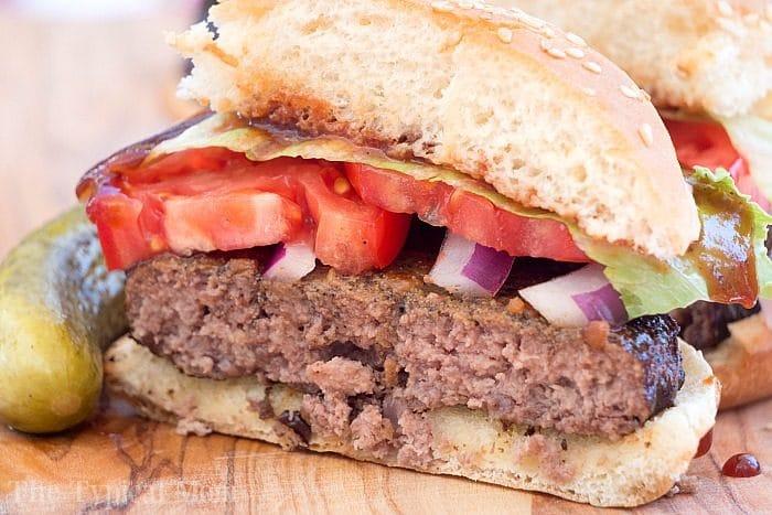 Smoked Burgers Recipe 2