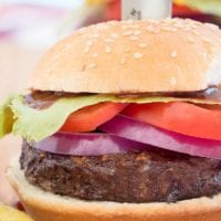 Smoked Burgers Recipe