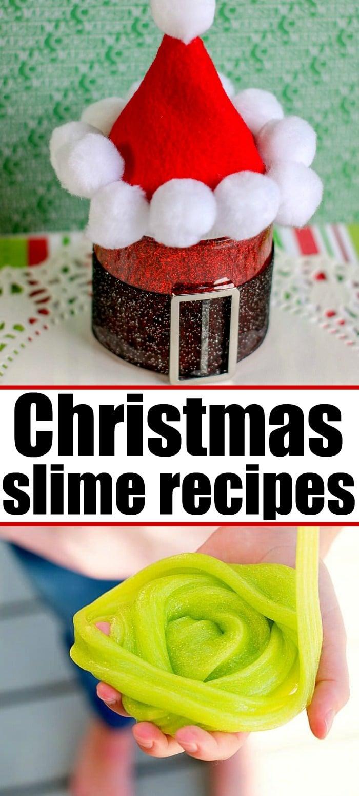 christmas slime