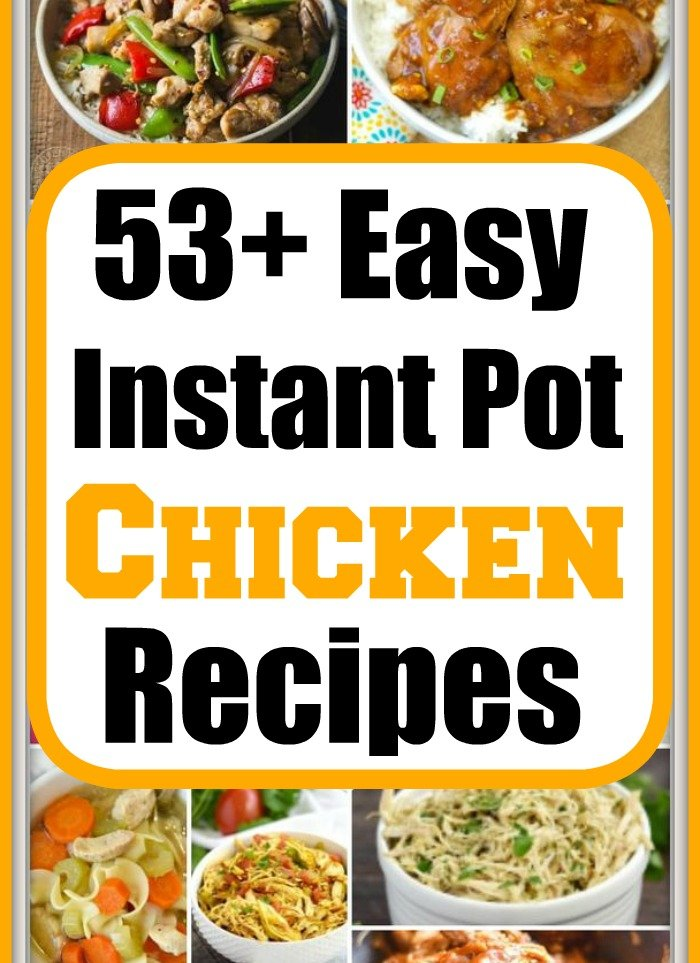 easy pressure cooker chicken recipes