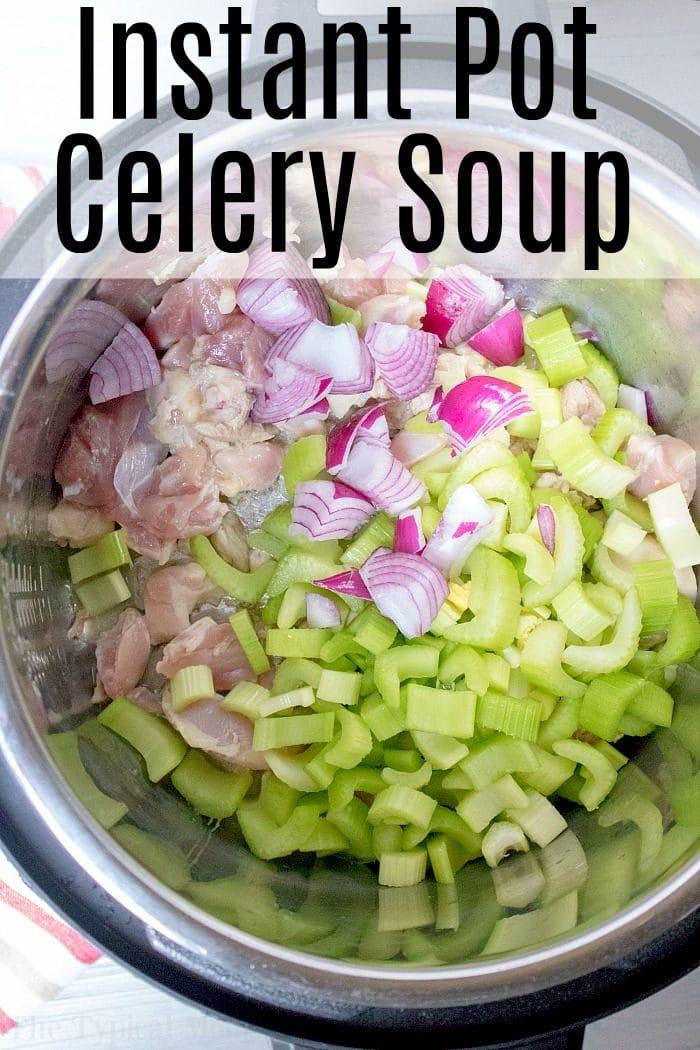 instant pot celery soup