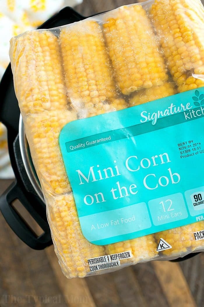 instant pot frozen corn