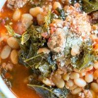 instant pot sausage soup